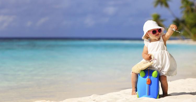 En la playa (iStock)