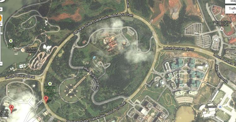 Putrajaya (Googlemaps)