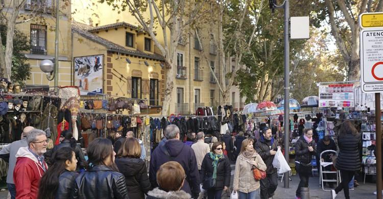 Rastro de Madrid (iStock)