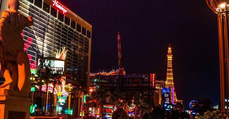 Torre Eiffel en Las Vegas (Pixabay)