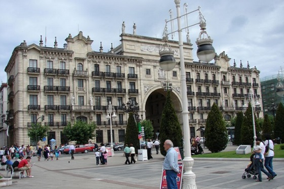 Edificios señoriales que se pueden ver en el Paseo de Pereda de Santander