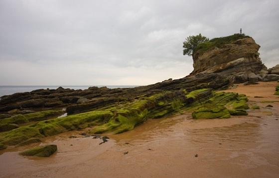 Playa de El Camello en Santander