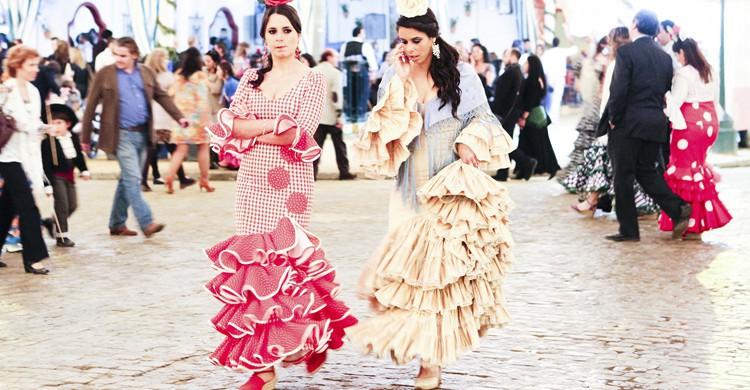 Chicas en la Feria (iStock)