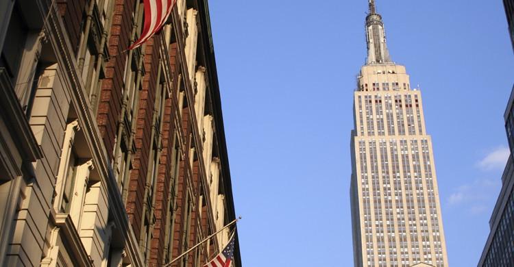 Empire State desde abajo (iStock)