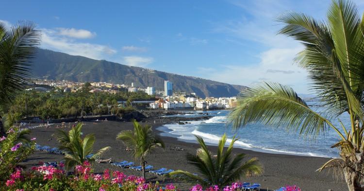 playa Jardin, Tenerife, Spain