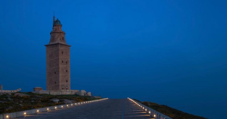 Torre de Hercules en Galicia