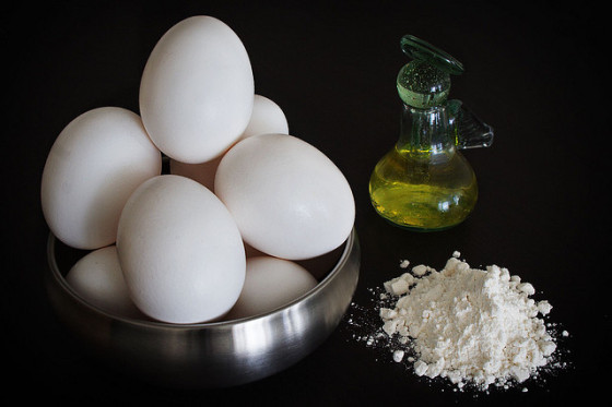 huevos santa clara