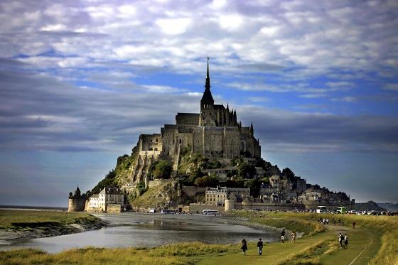 Monte de Saint Michel, en Francia