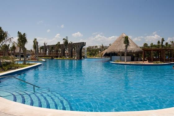 Hotel todo incluido en la Riviera Maya
