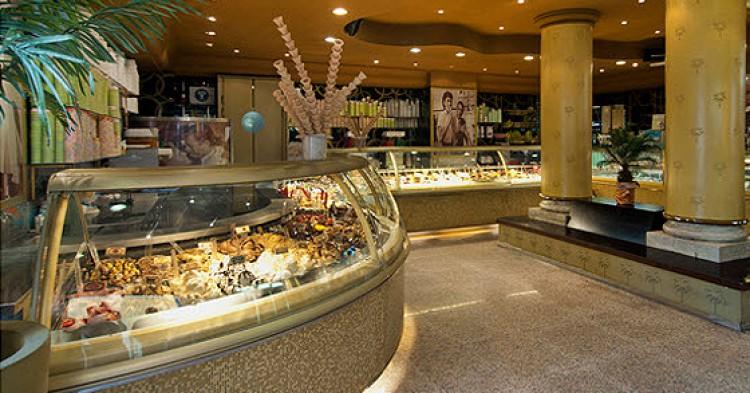 La Gelateria della Palma es de los mejores lugares para probar helados en la ciudad eterna.