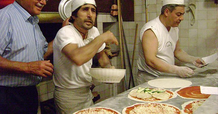 La pizzería Baffetto es uno de los referentes de la cocina romana.
