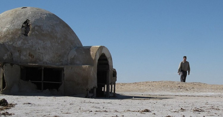 No one visiting can resist a Skywalker impersonation