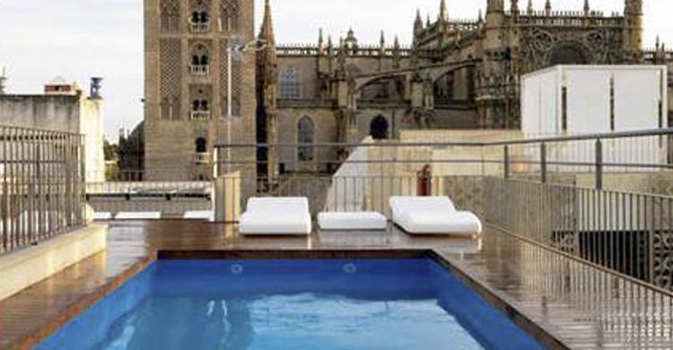 10 lugares que ver en sevilla que no conoc as el viajero fisg n - Terraza hotel eme ...