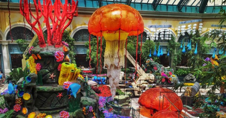Conservatory of Botanical Gardens del hotel Bellagio