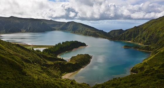 Lagoa do Fogo, en las Azores (Portugal). / Foto: Jwp1234