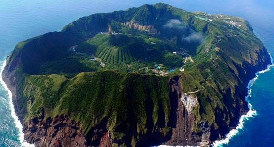 Vista aérea de Aaogashima, en Japón. / Foto: charlywkar