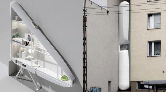 Las 5 casas m s estrechas de europa el viajero fisg n - Casas estrechas y largas ...