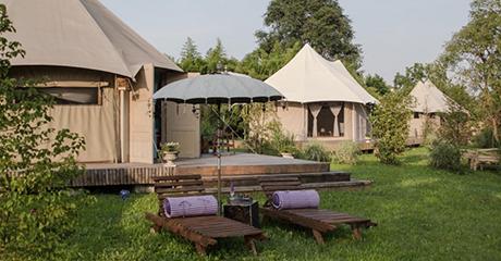 Los mejores campings de lujo de europa el viajero fisg n - Campings de lujo en espana ...