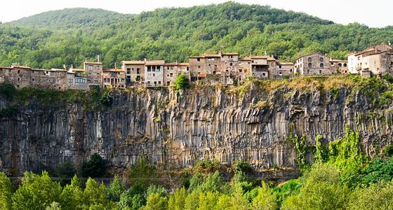 Castellfullit de la Roca - nafra cendrers