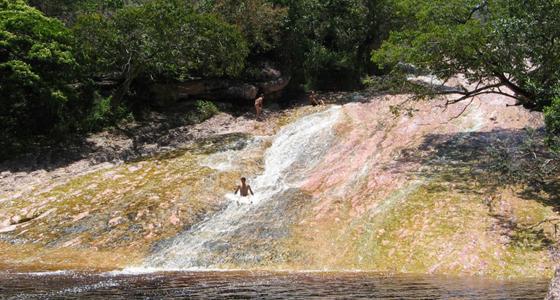 Ribeirão do Meio, Brasil. Chapada Adventure Daniel