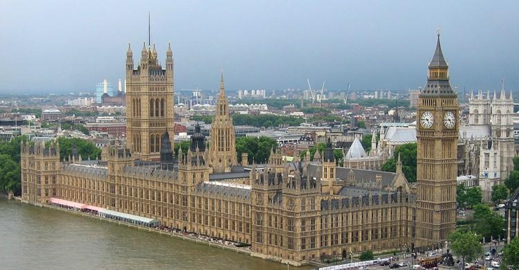Vista desde las alturas del Big Ben (Pixabay)