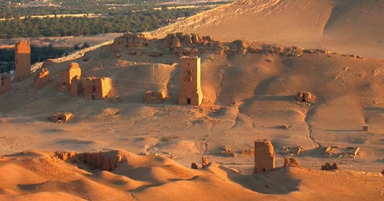 Vista de las ruinas de Palmira - RLuna, Flickr