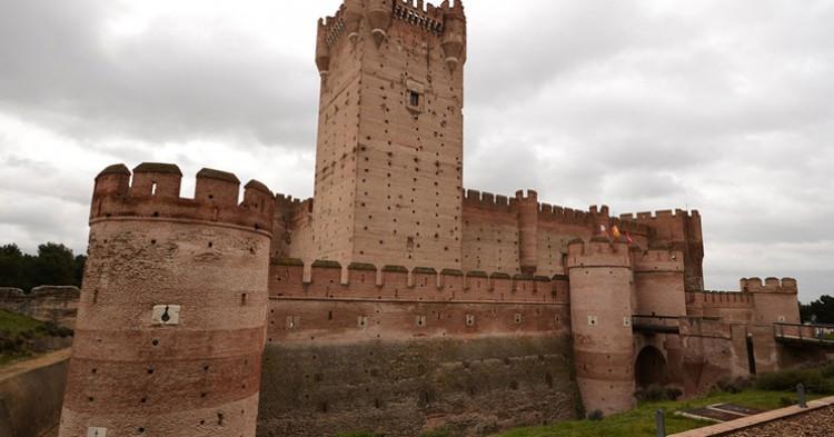 Castillo de Mota, en Medina del Campo. Tuscasasrurales (Flickr)