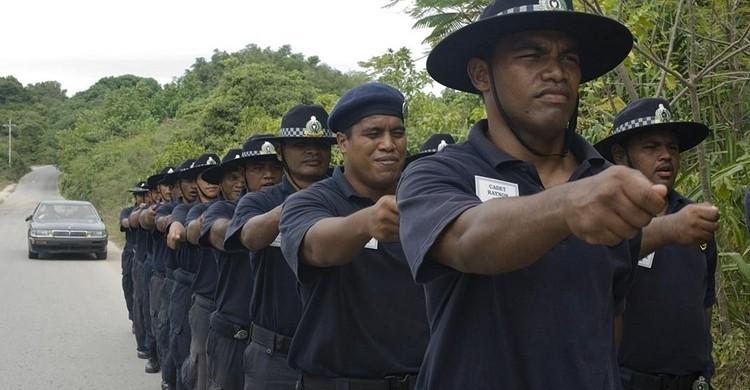 Policía en Nauru. Department of Foreign Affairs and Trade (Flickr).