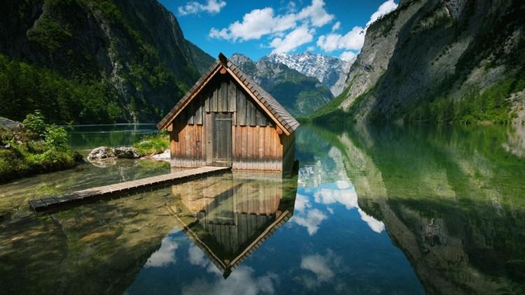 Como en los Alpes. (Genial.guru)