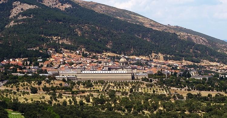 Vistas desde la llamada 'Silla de Felipe II'. jacinta lluch valero (Flickr)