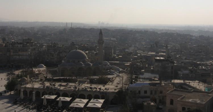 Vista de la ciudad de Alepo, en Siria - Franco Pecchio, Flickr