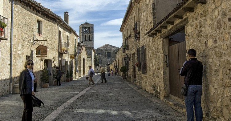 Una calle de Pedraza. Lorenmart (Flickr)