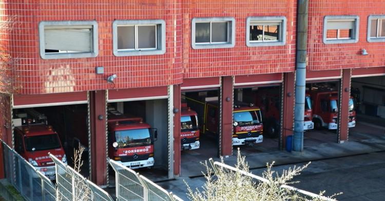 Parque de bomberos. Madrid Emergency Vehicles (Flickr)