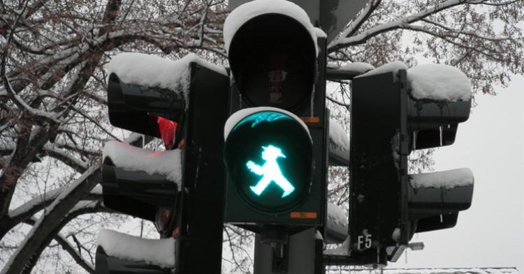 Semáforo de Berlín. dvdgmz (Flickr).