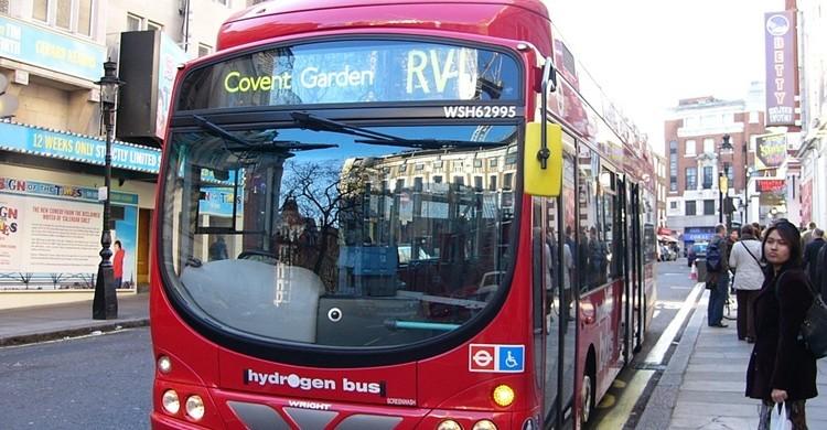 Autobús de Londres. euronomad (Flickr)