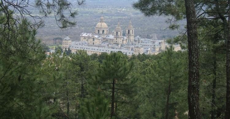 Vista del monasterio desde el monte. cabezadeturco. (Flickr)