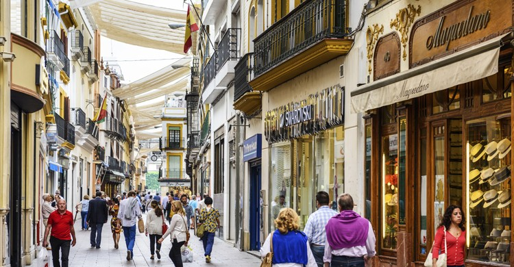 Calle Sierpes, Sevilla (iStock)