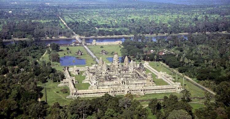 Angkor, en Camboya, declarado Patrimonio de la Humanidad por la UNESCO. Jacques Sierpinski (Gtres)