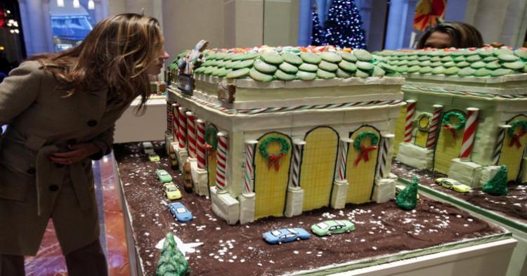 Tarta de la estación Grand Central de NY expuesta en Magnolia Bakery - Richard Drew. Gtres