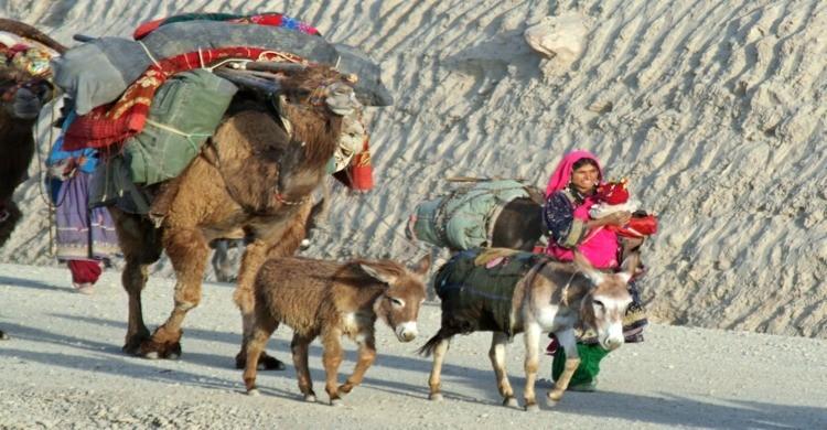 Miembros del pueblo Kuchi, derivado de los Ghilji. (Foto: Wikipedia)