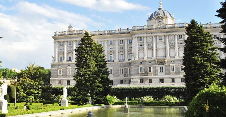 Palacio Real y Jardines de Sabatini(Jan S0L0, Flickr)