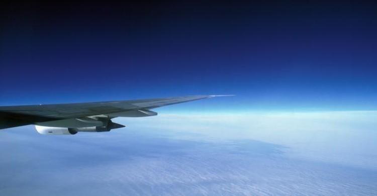 Detalle del ala de un avión. Foto: Philippe Dureuil, Gtres