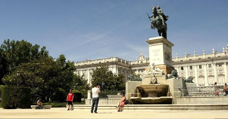 Plaza de Oriente (Ronny Siegel, Flickr)