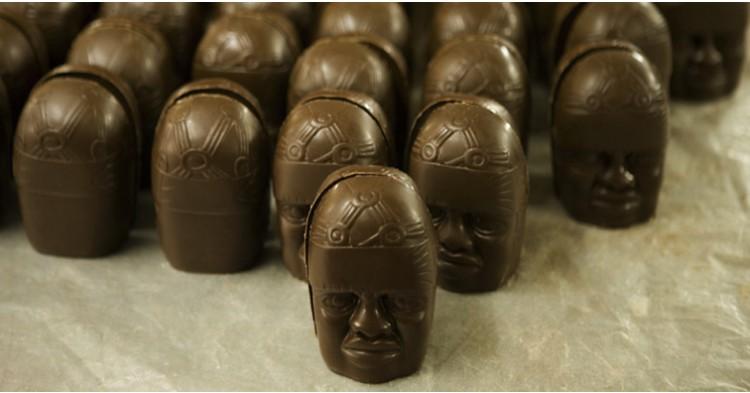 Piezas de chocolate de Tabasco, Méjico. Foto: visitmexico.com
