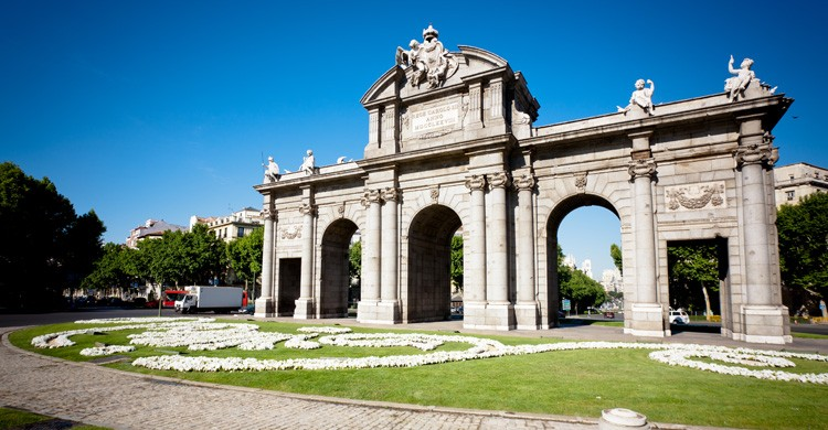 La Puerta de Alcalá de Madrid. Neus de Saavedra (Joma)