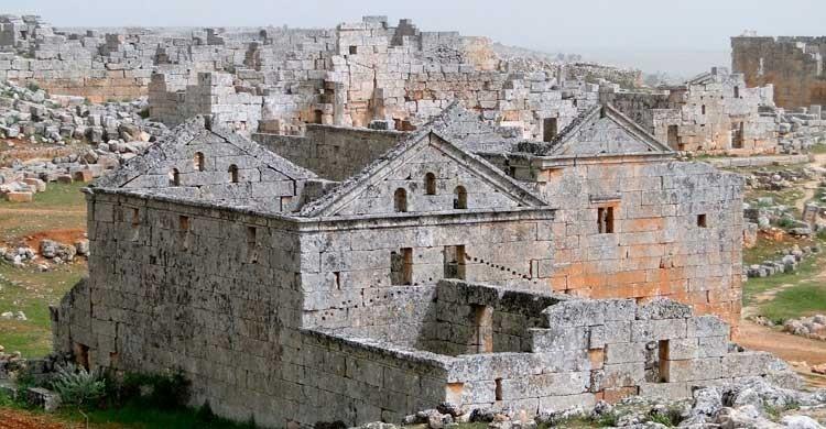 Aldea de Serjilla(Autor: Bernard Gagnon. Wikipedia)