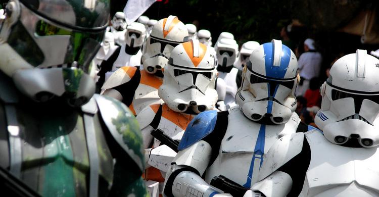 Soldados imperiales. Scott Smith (Flickr)