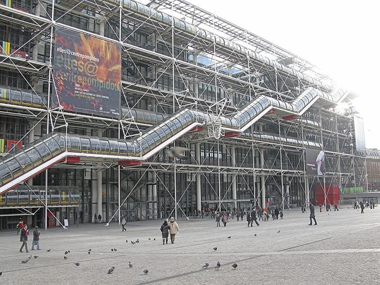 Centro Pompidou. Foto: iStock
