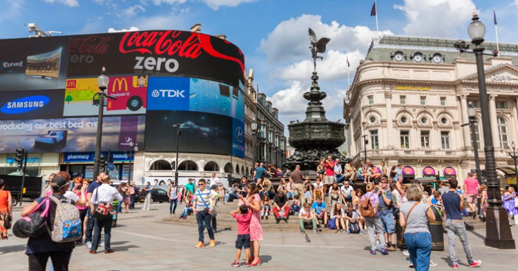 Piccadilly Circus, Londres - iStock