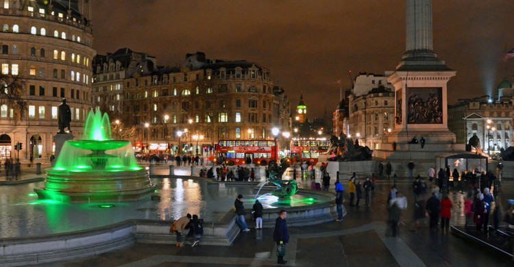 Trafalgar Square en Londres. Dncnh (Flickr)